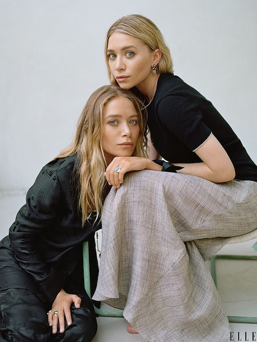 Mary-Kate, Ashley Olsen, ELLE