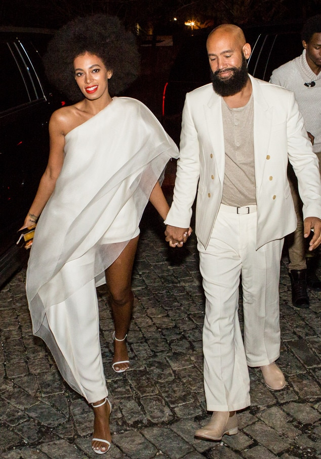 Solange Knowles, Alan Ferguson, Wedding