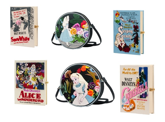 Olympia Le-Tan Disney clutches