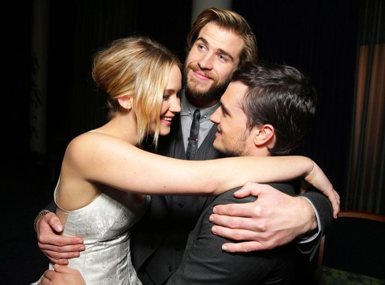 Jennifer Lawrence, Liam Hemsworth, Josh Hutcherson