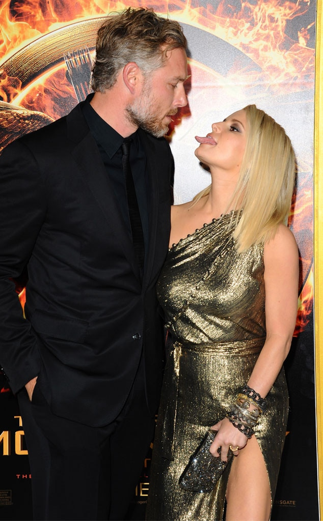 Jessica Simpson, Eric Johnson, PDA