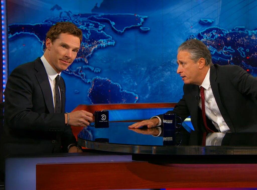 Benedict Cumberbatch, Jon Stewart