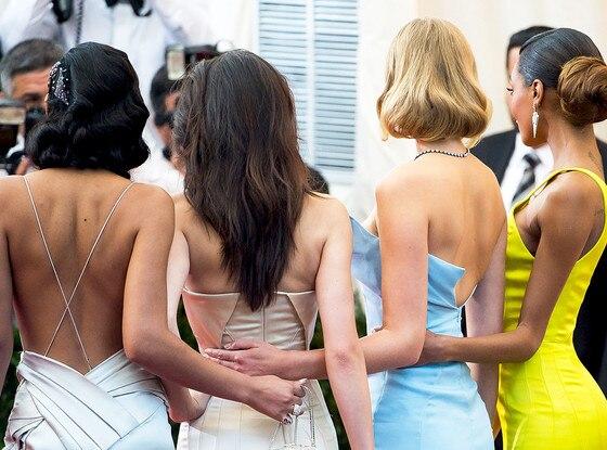 Kendall Jenner, Chanel Iman, Jourdan Dunn, Toni Garn