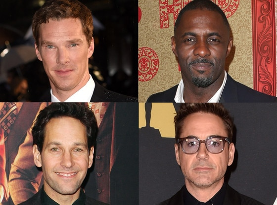Robert Downey Jr., Idris Elba, Benedict Cumberbatch, Paul Rudd