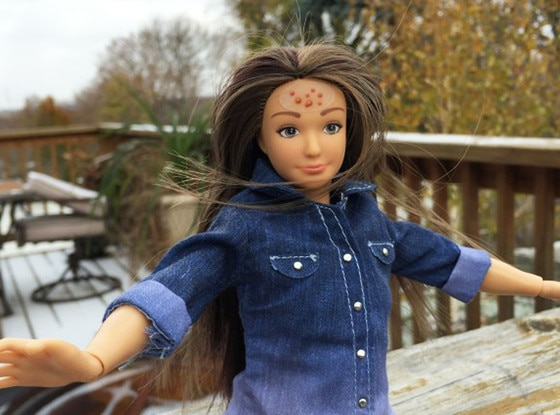 Lammily, Normal Barbie Doll