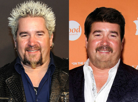 This Photo Of Guy Fieri Without His Crazy Blond Hair Will
