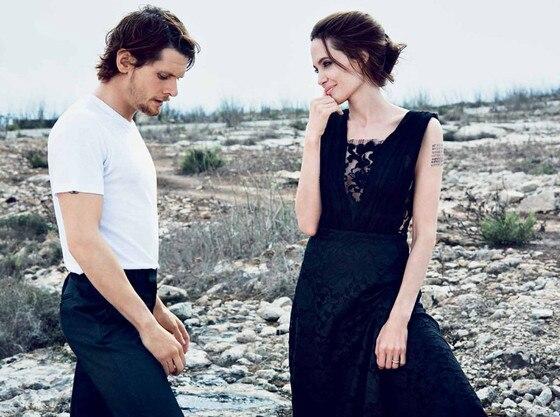 Angelina Jolie, Jack O'Connell, DuJour Magazine