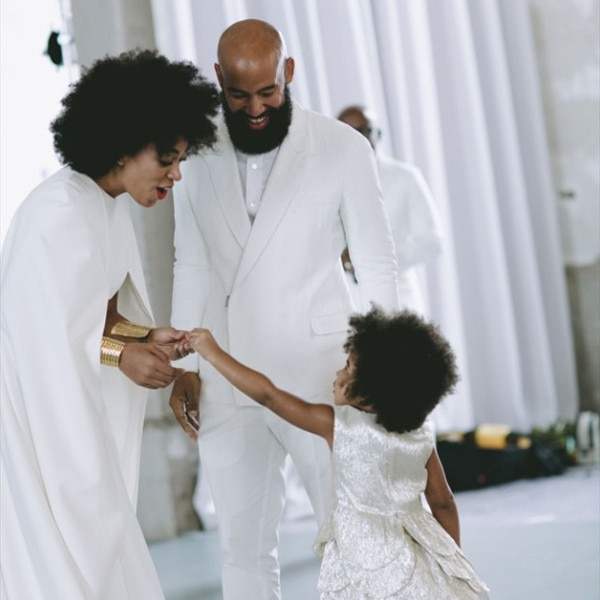 Blue Ivy, Beyonce Instagram, Solange Knowles, Wedding