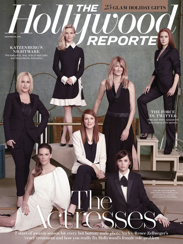 The Hollywood Reporter, Cover