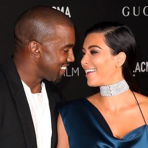 Kanye West, Kim Kardashian West, LACMA