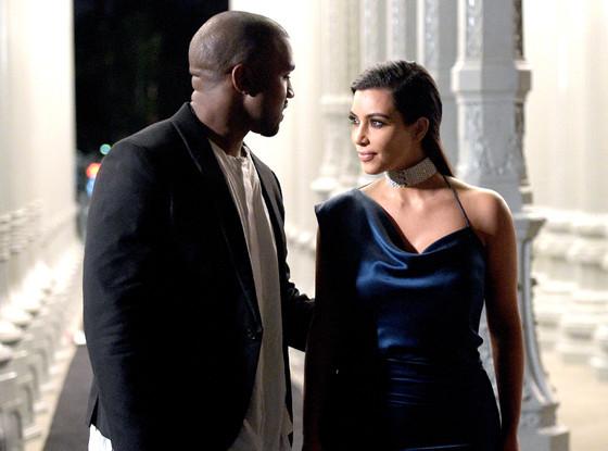 Kanye West, Kim Kardashian, LACMA