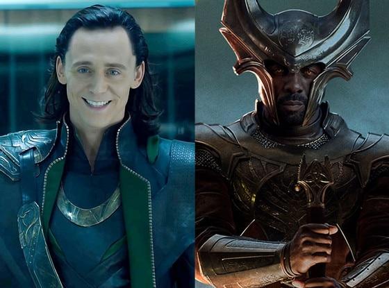Tom Hiddleston, Idris Elba, Thor