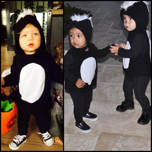 Babies Stole My Look! Fergie\'s Son Wears Same Halloween Costume as ...