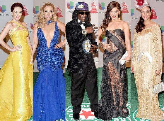 Worst Dressed, Latin Grammy Awards