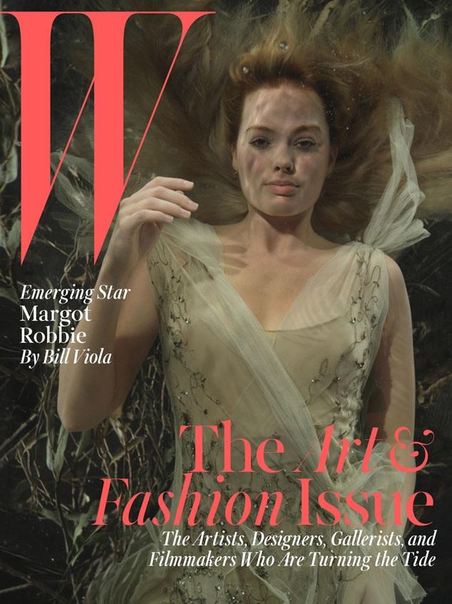 Margot Robbie, W Magazine