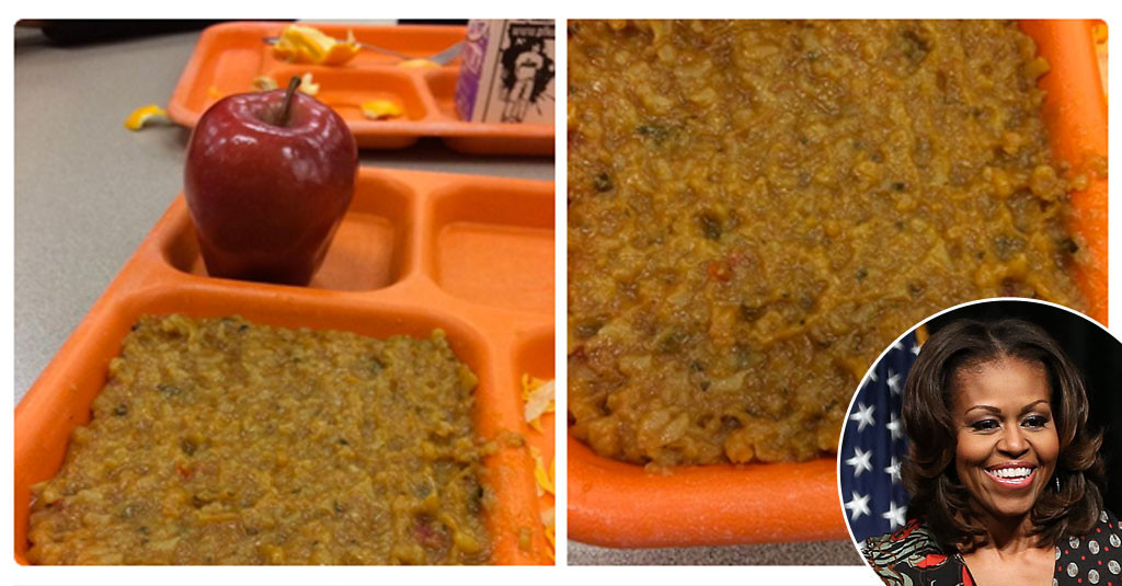 School Lunches, Michelle Obama