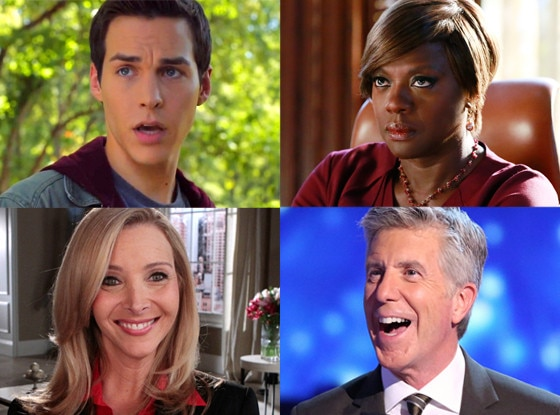 Comeback, Dancing with the Stars, How to get away with murder, The vampire diaries)