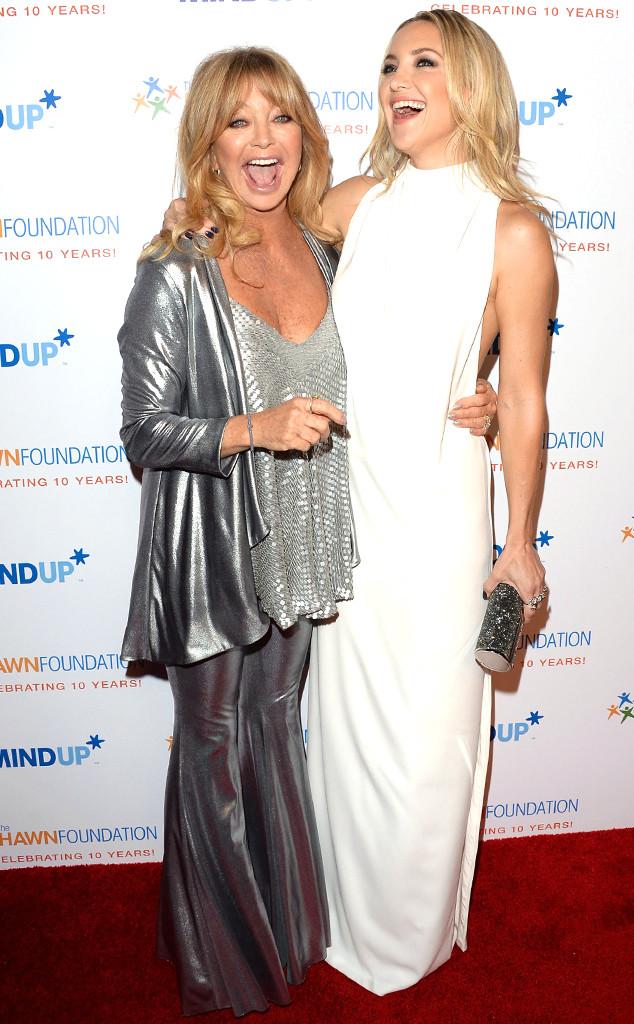 Goldie Hawn, Kate Hudson
