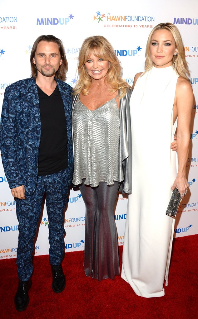 Matthew Bellamy, Goldie Hawn, Kate Hudson