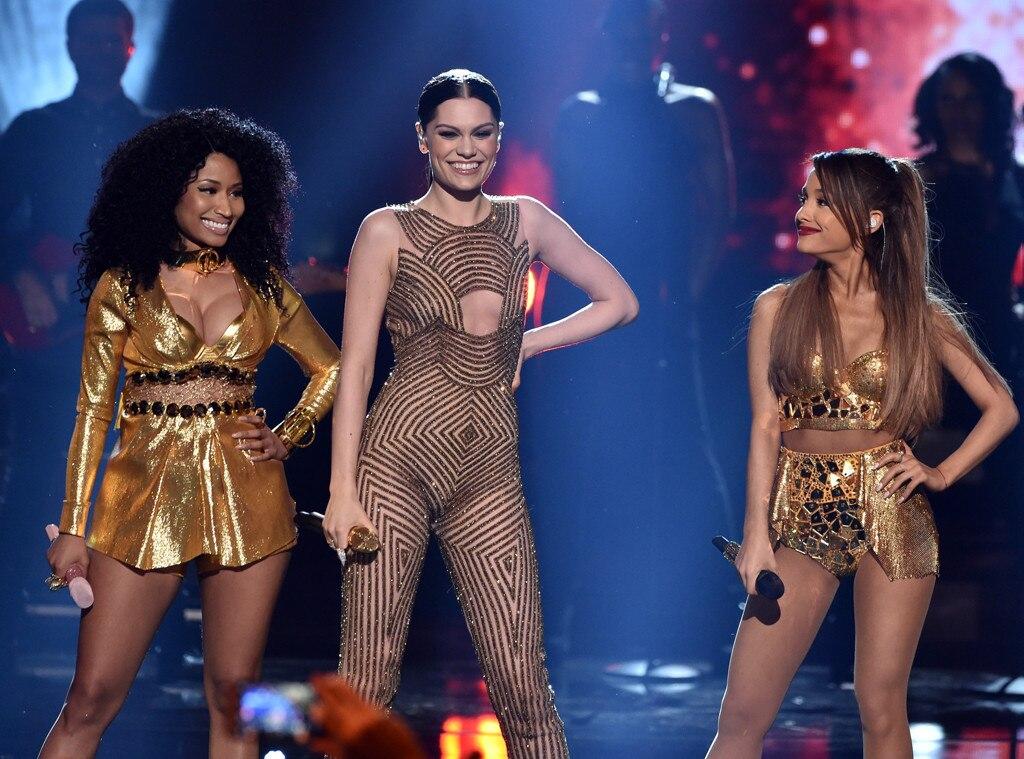 Nicki Minaj, Jessie J, Ariana Grande, American Music Awards 2014
