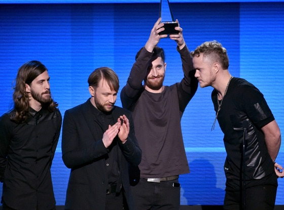 Imagine Dragons, American Music Awards 2014