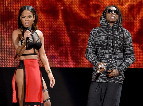 Christina Milian, Lil Wayne, American Music Awards 2014