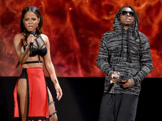 Christina Milian, Lil Wayne, American Music Awards 2014