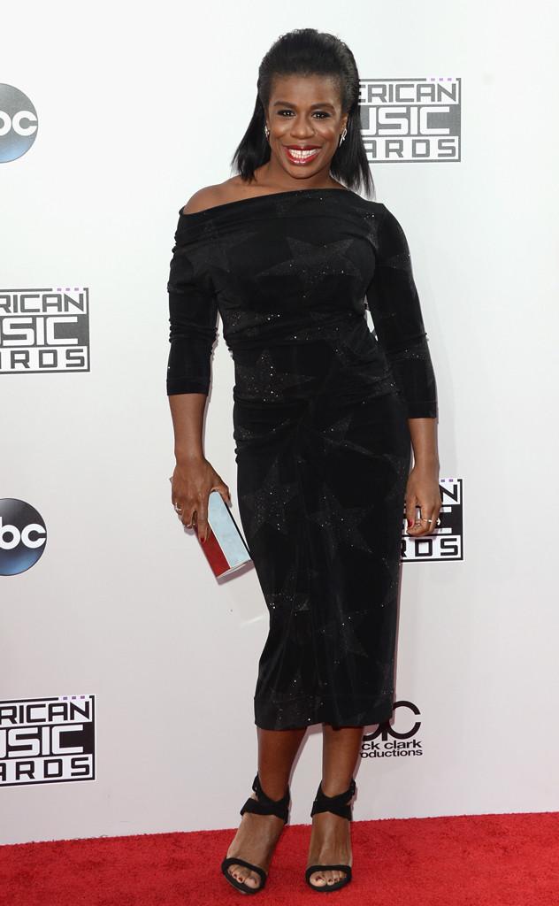 Uzo Aduba from 2014 AMAs Red Carpet Arrivals | E! News