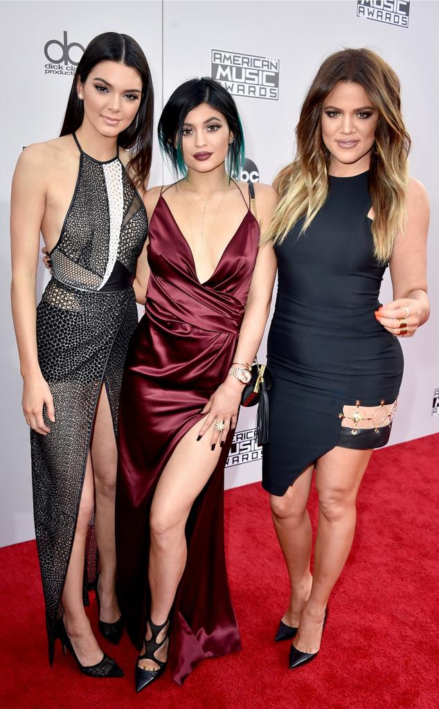 Kendall Jenner, Kylie Jenner, Khloe Kardashian, American Music Awards 2014