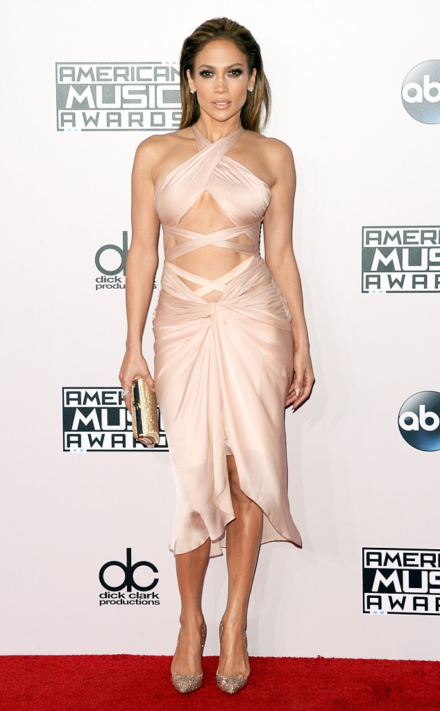 Jennifer Lopez, American Music Awards 2014