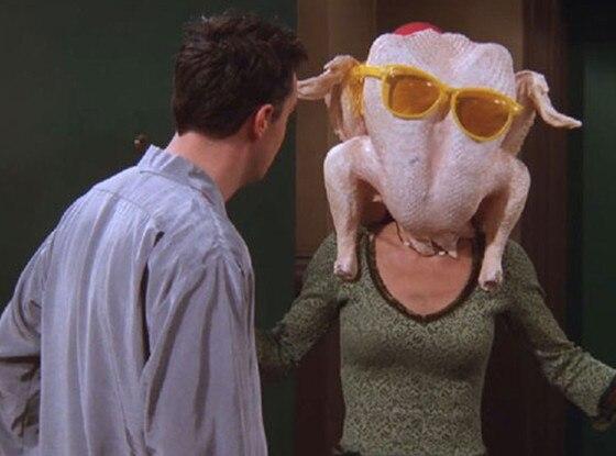 Friends, Thanksgiving, Turkey