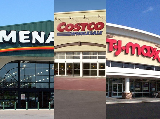 Costco, Menards, TJ Maxx, Stores that are closed during Thanksgiving