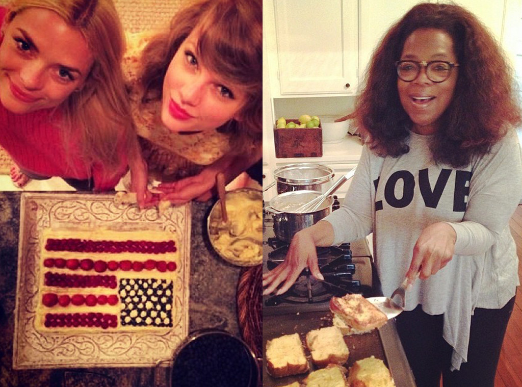 Celebs in the Kitchen