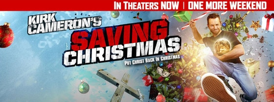 Kirk Cameron Tries to Bolster Saving Christmas' Rotten Tomatoes ...