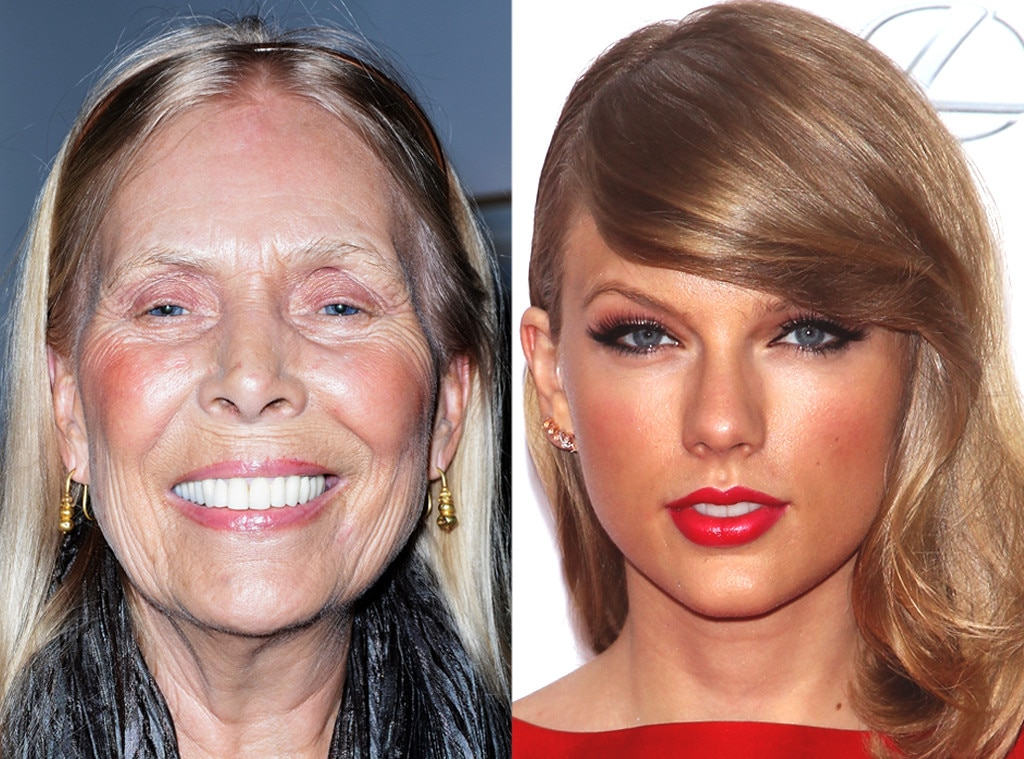 Joni Mitchell, Taylor Swift