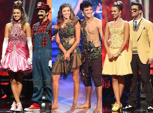 Sadie Robertson, Mark Ballas, Dancing with the Stars, Costumes, DWTS