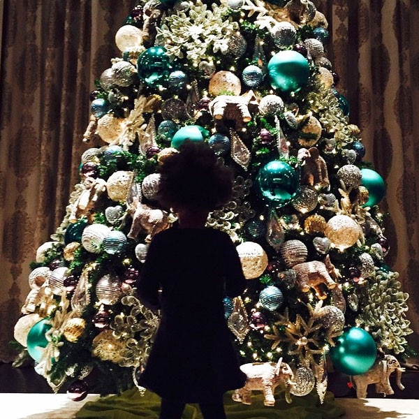 Blue Ivy, Christmas