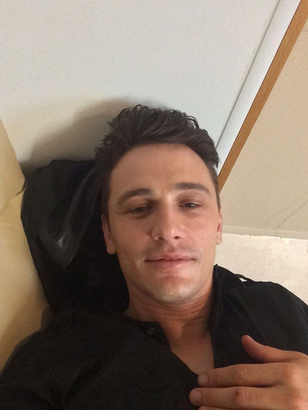 James franco s selfie calendar is here see his latest self indulgent