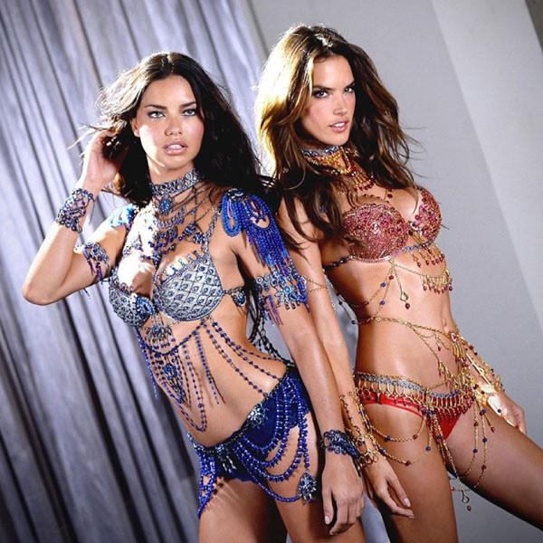 Victoria's Secret, Adriana Lima, Alessandra Ambrosio