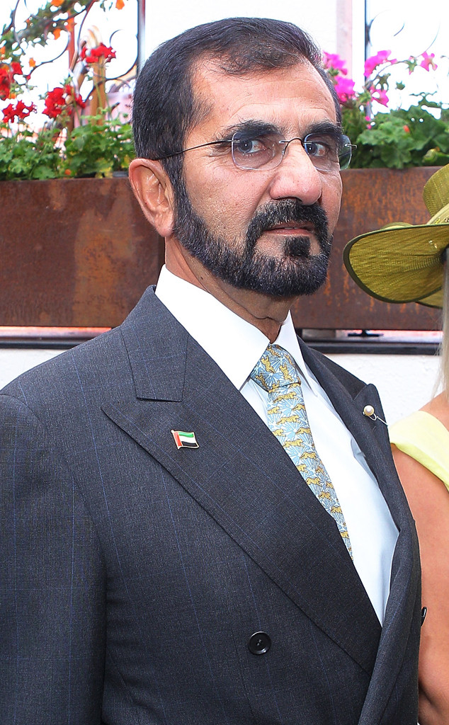 Emir Sheikh of Dubai, Sheikh Mohammed Bin Rashid Al Maktoum of Dubai