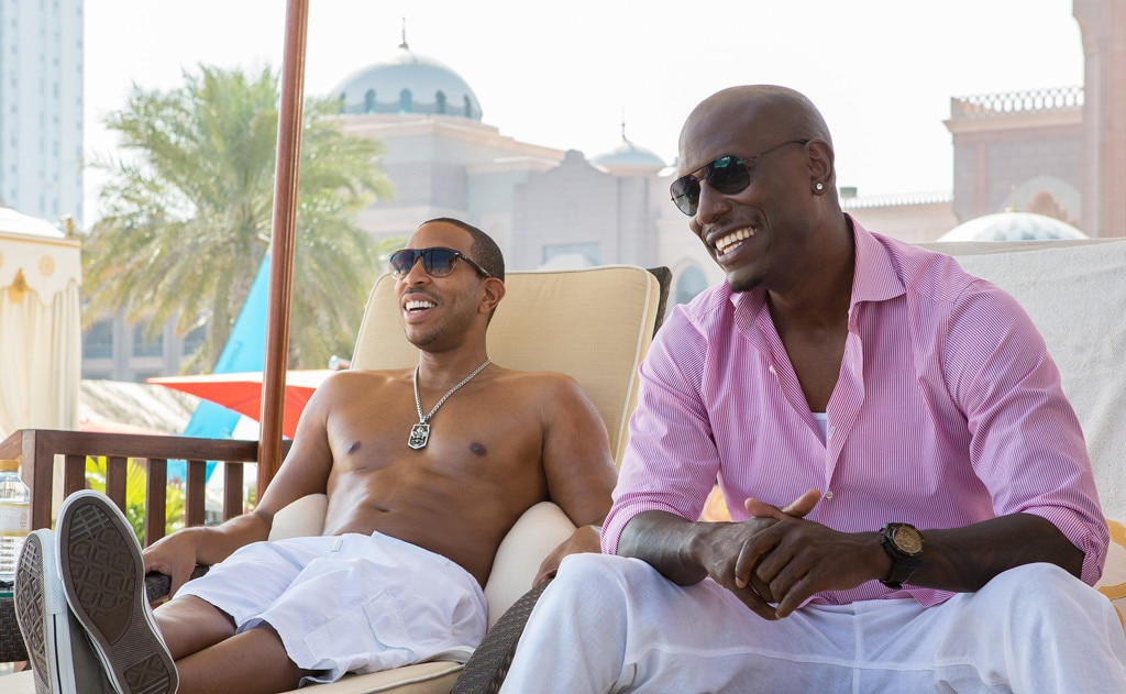 Furious 7, Chris Ludacris Bridges, Tyrese Gibson
