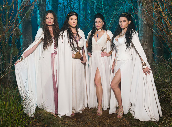 The Witches of East End, Cast