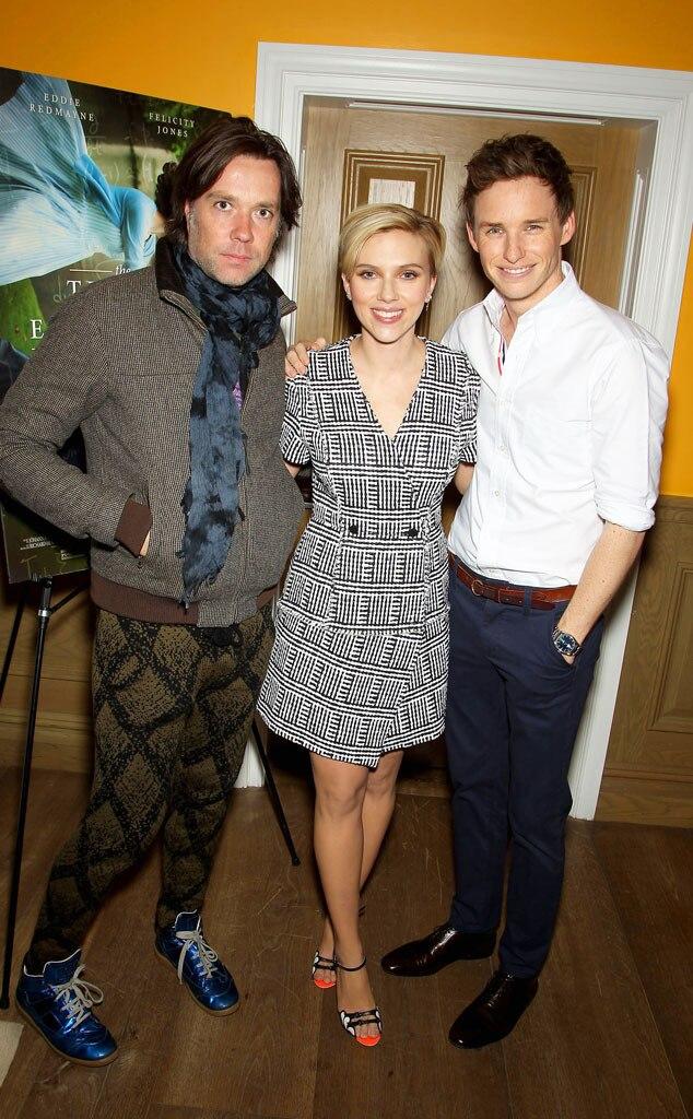 Rufus Wainwright, Scarlett Johansson, Eddie Redmayne