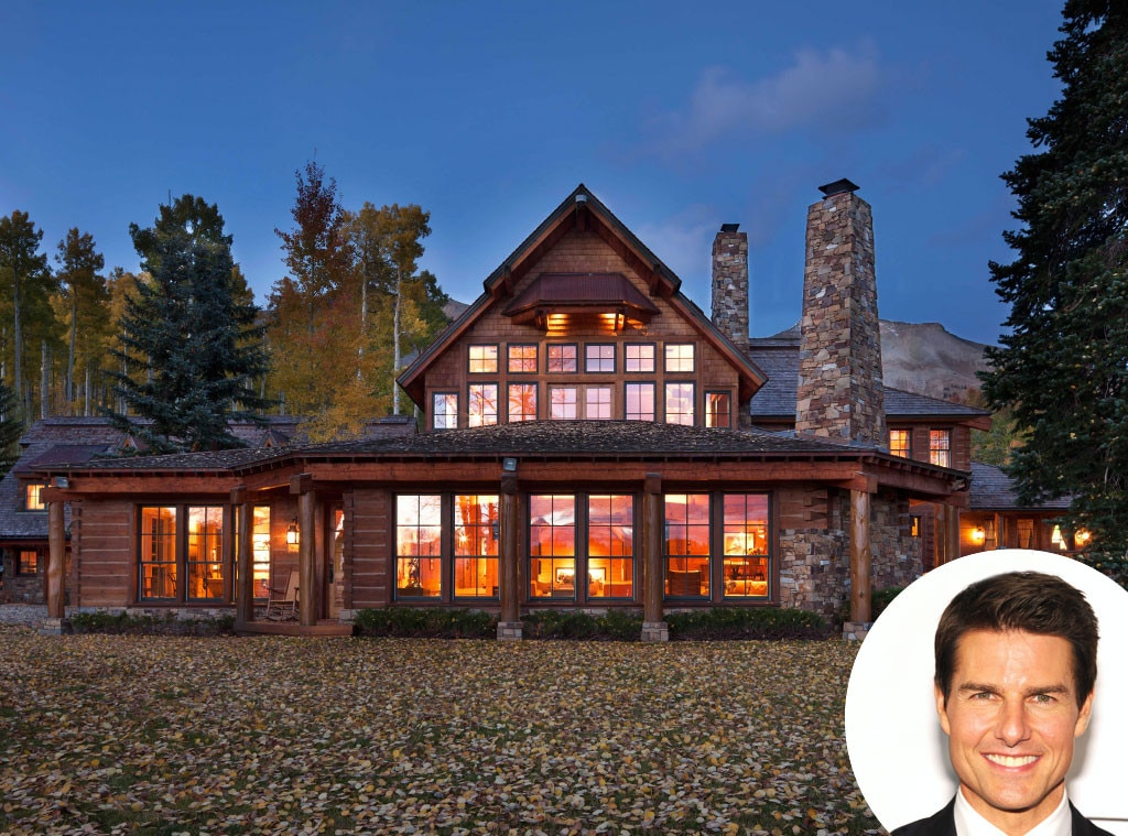Tom Cruise Lists His Colorado Estate For 59 Million See