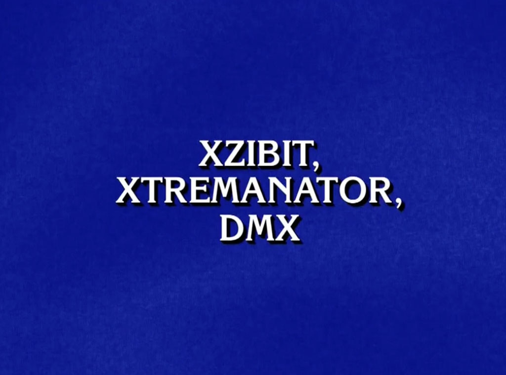 Jeopardy, fake rapper names