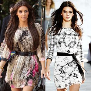Les Kardashian en DVF