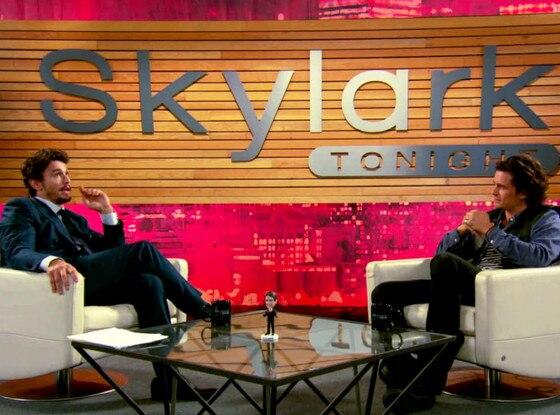 James Franco, Orlando Bloom, Interview