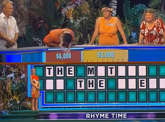 Wheel of Fortune Fail
