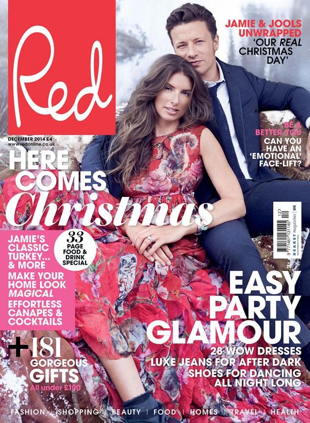 Jamie Oliver, Jools Oliver, Red Magazine