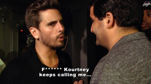 Evolution of Kourtney and Scott
